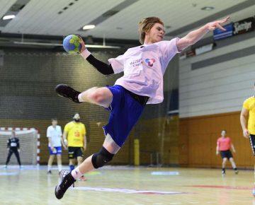 Thomas Bobe deutete nach langwieriger Verletzung seine Qualitäten an | Bildquelle: © Frank Arnold • sportfotoseisenach / ThSV Eisenach
