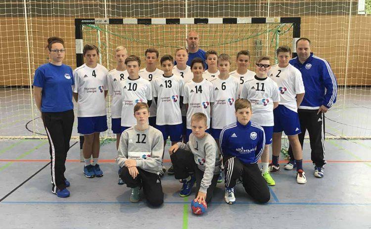 ThSV-D-Jugend beim Turnier in Dessau | Bildquelle: © Verein / ThSV Eisenach