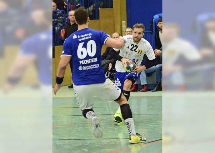 Dirk Holzner in Aktion. | Bildquelle: © Frank Arnold • sportfotoseisenach / ThSV Eisenach