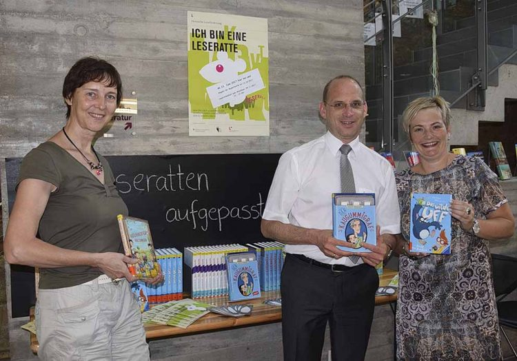 v.l.: Dr. Annette Brunner, tino Richter, Heike Apel | Bildquelle: © Stadt Eisenach