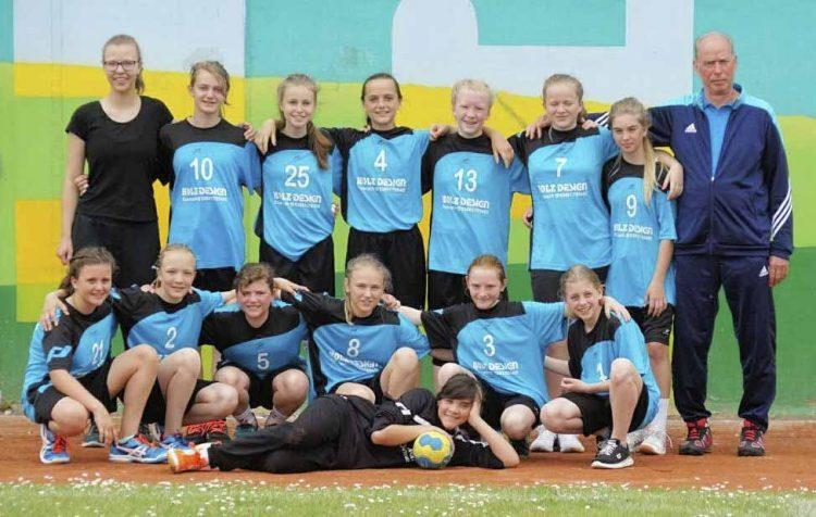 Die weibliche Jugend D des SV Wartburgstadt – verstärkt mit drei Mädels der HSG Werratal - beim Wismar Junior Cup 2017 | Bildquelle: © Verein SV Wartburgstadt / Th. Levknecht