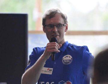 Christoph Jauernik, im zweiten Jahr Coach des THSV Eisenach in der 2. Handballbundesliga   Bildquelle: © Frank Arnold • sportfotoseisenach / ThSV Eisenach