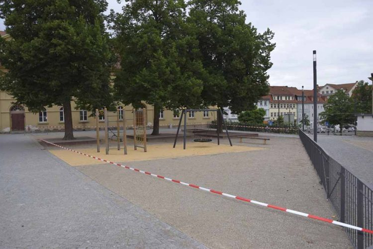 Schulhof Georgenschule | Bildquelle: © Stadt Eisenach