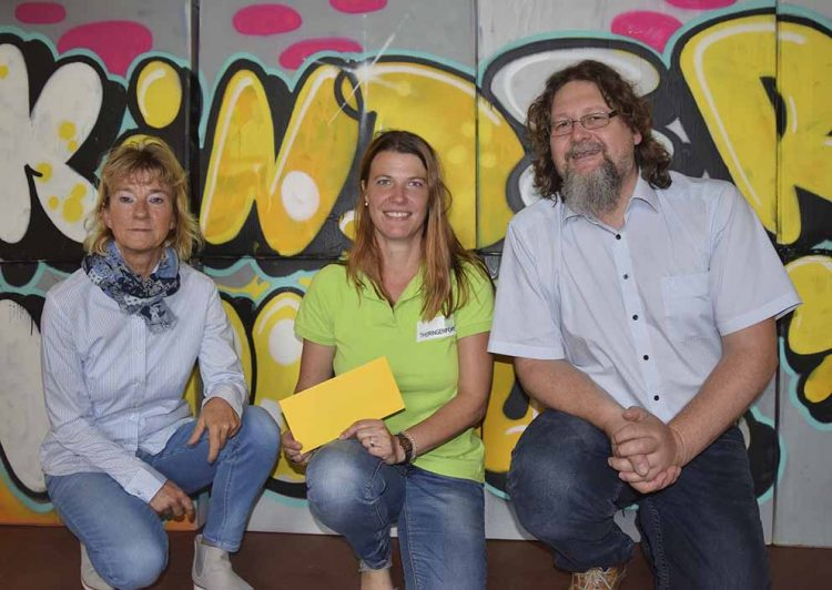 v.l.: Annette Backhaus, Antje Jarski, Ingo Wachtmeister   Bildquelle: © Stadt Eisenach