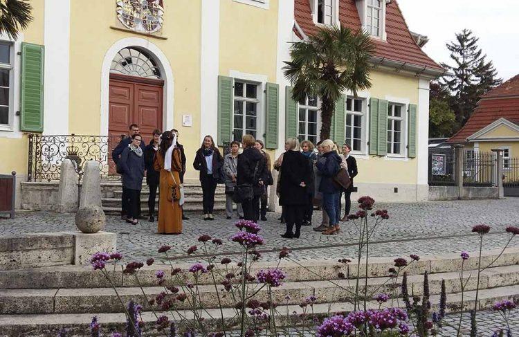 Mitglieder des Verein Städtetourismus in Thüringen beim besichtigen der Stadt Bad Langensalza | Bildquelle: © Verein Städtetourismus in Thüringen e.V.