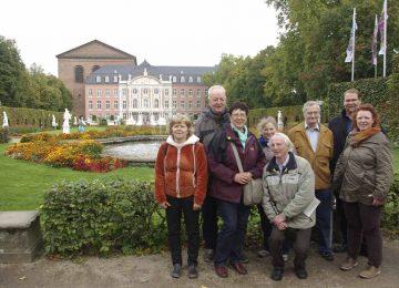 Mitglieder der CDU Eisenach vor dem Kurfürstlichen Palais, Trier | Bildquelle: © CDU Eisenach