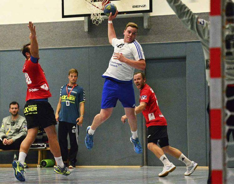 ThSV-Rückraumspieler Markus Collatz trifft auf seine vorjährigen Teamkollegen   Bildquelle: © Frank Arnold • sportfotoseisenach / ThSV Eisenach