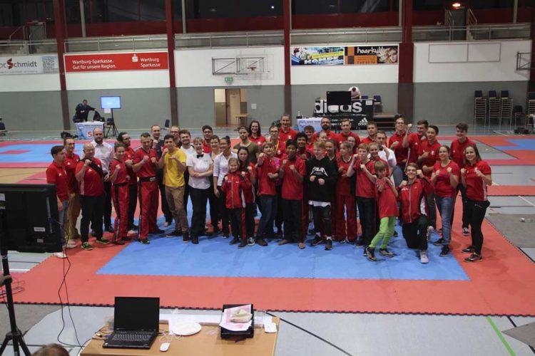Team AWC2017 | Bildquelle: © Heike Neundörfer, Stadtlengsfeld / Kampfsportschule Berk