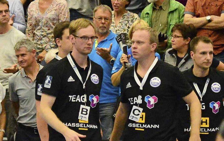 Christoph Jauernik und Karsten Wöhler | Bildquelle: © Frank Arnold • sportfotoseisenach / ThSV Eisenach