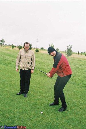 golfer trotzten dem wetter eisenach online. Black Bedroom Furniture Sets. Home Design Ideas