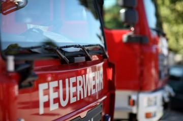 Eisenacher Feuerwehren halfen nach Lkw-Unfall und löschten Waldbrand