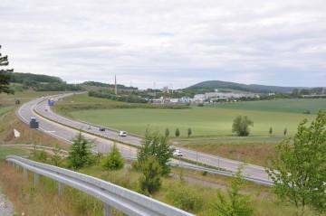 Reifenplatzer auf A4 bei Eisenach