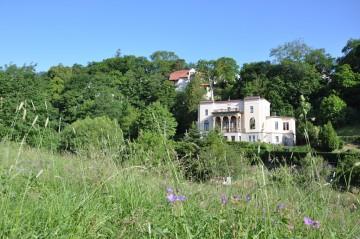 Geburtstagsfeier für Fritz Reuter in seiner Villa