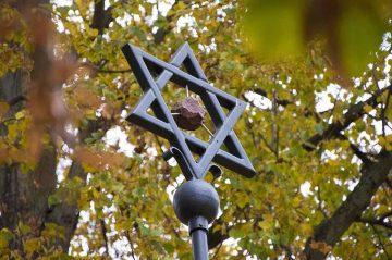 Pogrom-Gedenkaktion in der Eisenacher Karlstraße