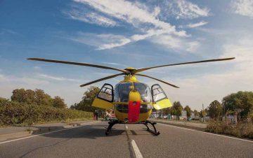 Unfall mit schwerverletztem Kind