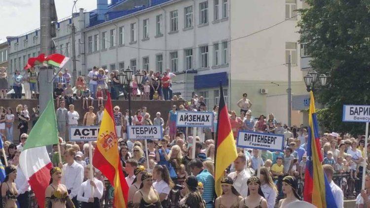 Festumzug in Mogilew | Bildquelle: © Stadt Eisenach