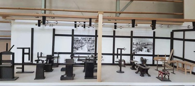 Modell Dixi-Werkstatt | Bildquelle: © AWE-Stiftung