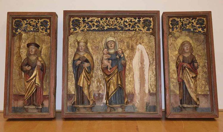 restaurierter Flügel-Altar um 1500 | Bildquelle: © Stadt Eisenach