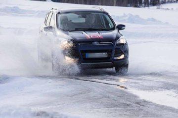 Gute Winterreifen sind auch bei Allradantrieb unabdingbar · SUV-Winterreifen der Dimension 235/55 R 17 im Praxistest von GTÜ und ACE | Bildquelle: © Tschovikov/GTÜ