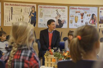 Vorlesetag in der Grundschule Nazza   Bildquelle: © Büro Christian Hirte, MdB