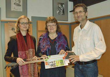 Unterstützung für Bürgerinitiative Mariental - v.l. OB K. Wolf, A. Goessel und J. Strauch | Bildquelle: © Stadt Eisenach