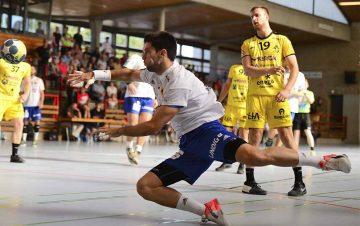 Die Wartburgstädter hoffen, dass Ibai Meoki seine Knieverletzung auskuriert und ins Mannschaftstraining zurückkehrt   Bildquelle: © Frank Arnold • sportfotoseisenach / ThSV Eisenach