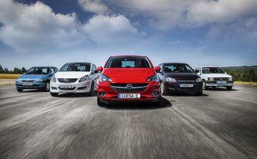 Bestseller: Der Opel Corsa kommt seit 1982 in mittlerweile fünf Generationen aus Saragossa. | Bildquelle: © Adam Opel AG