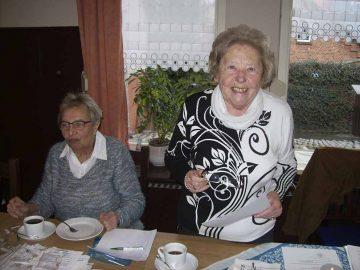 Hilda Siebert beim Rechenschaftsbericht | Bildquelle: © Th. Levknecht