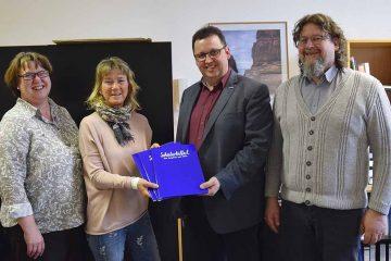 v.l.: Ilona Kornweih, Annette Backhaus; Michael Kaufmann und Ingo Wachtmeister | Bildquelle: © Stadt Eisenach
