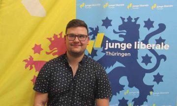 Philip Riegel Landesvorsitzender Junge Liberale | Bildquelle: © Junge Liberale Thüringen