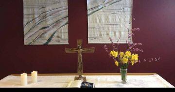 Kreuz aus dem Andachtsraum des Gothaer Krankenhauses | Bildquelle: © Landespolizeiinspektion Gotha