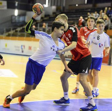 Tom Steiner am Ball für den ThSV Eisenach | Bildquelle: © Frank Arnold • sportfotoseisenach / ThSV Eisenach