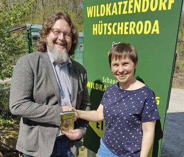 Ingo Wachtmeister und Claudia Wilhelm | Bildquelle: © Stadt Eisenach