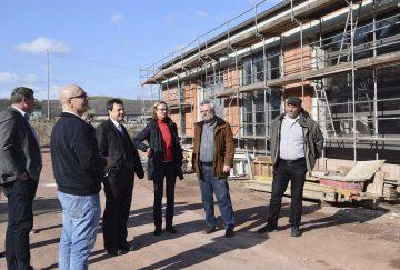 Oberbürgermeisterin und Aufsichtsrat besichtigen Baustelle | Bildquelle: © Stadt Eisenach