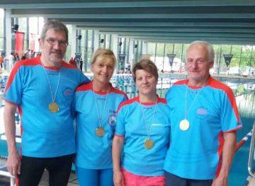 von links: Thomas Hollerbuhl, Cathrin Haase, Jana Gräbner, Frank Hesbacher | Bildquelle: © Ilona Hünniger