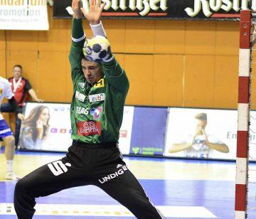 Stanislaw Gorobtschuk aus dem Torhüterteam des ThSV Eisenach | Bildquelle: © Frank Arnold • sportfotoseisenach / ThSV Eisenach