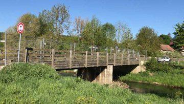Brücke über die Nesse in Stockhausen wird instand gesetzt
