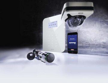 wAppLoxx lässt sich auf Wunsch mit Alarm und Videoüberwachung kombinieren | Bildquelle: ABUS Security-Center GmbH & Co. KG
