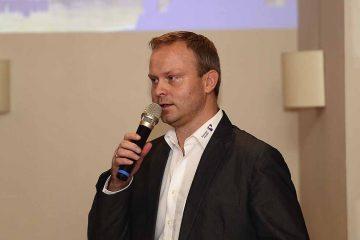 Karsten Wöhler beim Sponsorenstammtisch des ThSV Eisenach | Bildquelle: © Frank Arnold • sportfotoseisenach / ThSV Eisenach