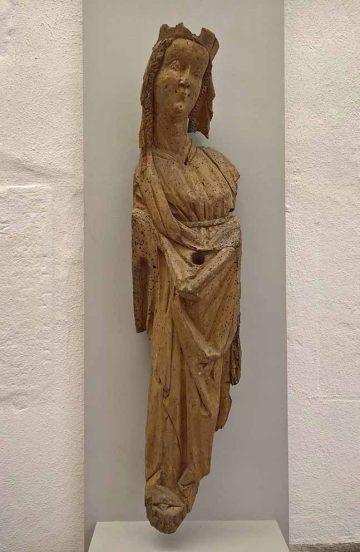 Madonna aus Thüringen Ende 14Jh. | Bildquelle: © Stadt Eisenach