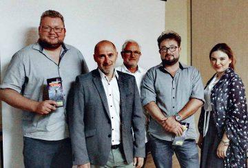 Freie Demokraten aus der Wartburgregion mit dem hessischen FDP-Spitzenkandidaten René Rock | Bildquelle: © Sebastian Bethge
