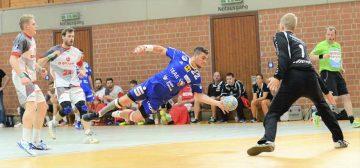 Armend Alaj gelang gegen Melsungen 1 Treffer   Bildquelle: © Frank Arnold • sportfotoseisenach / ThSV Eisenach