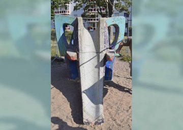 Elefantenrutsche im Thälmannviertel: Sanierung im Mai/Juni geplant