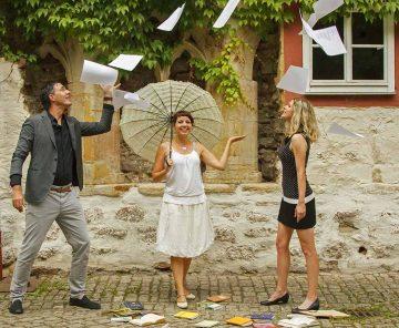 die Organisatoren - Rico Wagner, Sandra Blume und Franziska Gaulke | Bildquelle: © Marisa Metze