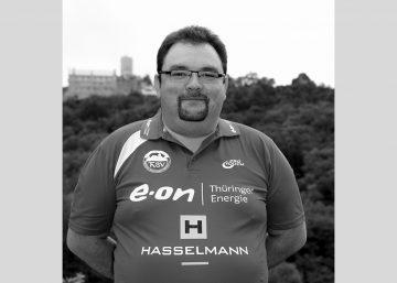 Knut Schauer im Jahr 2013 als Mannschaftsleiter | Bildquelle: © Th. Levknecht (Fotostudio Gräbedünkel) ThSV Eisenach