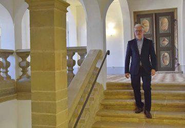 Neuer Kulturamtsleiter Dr. Achim Heidenreich im Eisenacher Stadtschloss | Bildquelle: © Stadt Eisenach