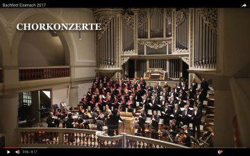 263. Kantatengottesdienst mit Vorstellung eines Kurzfilms zum Bachfest Eisenach