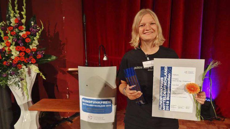 Laura Gieß   Bildquelle: © Franziska Klemm / Wartburg-Radio
