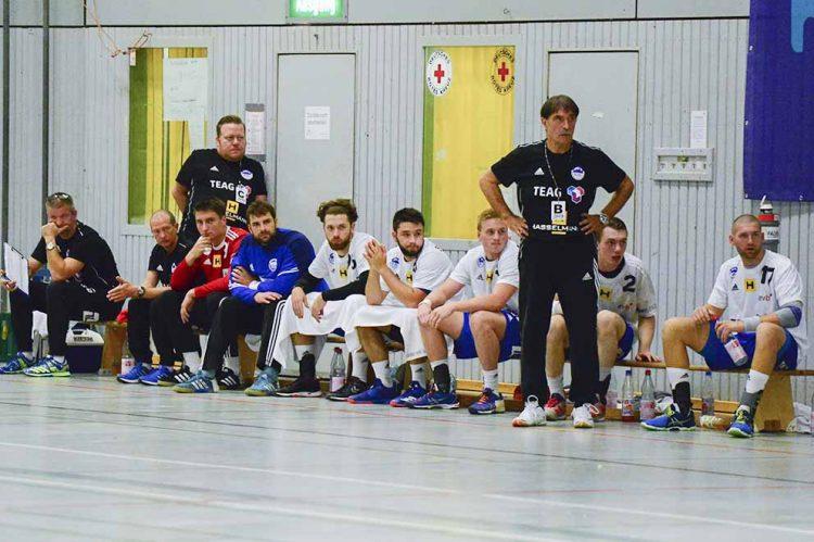 Sead Hasanefendic beim Coaching im Groß-Bieberau   Bildquelle: © Frank Arnold • sportfotoseisenach / ThSV Eisenach