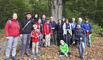 Die DLRG-Wandergruppe.   Bildquelle: © Maik Weiland/ DLRG Eisenach